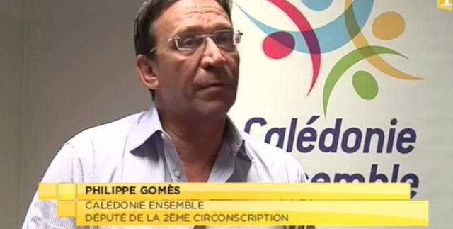 Philippe Gomes repond a pierre frogier